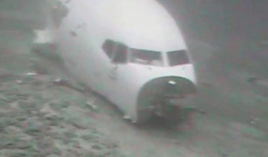 NTSB ujawniła podwodne zdjęcia rozbitego B737-200