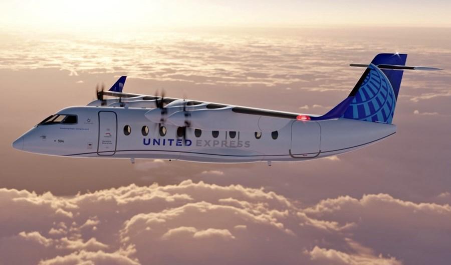 200 elektrycznych samolotów ES-19 dla United Airlines i Mesa Airlines