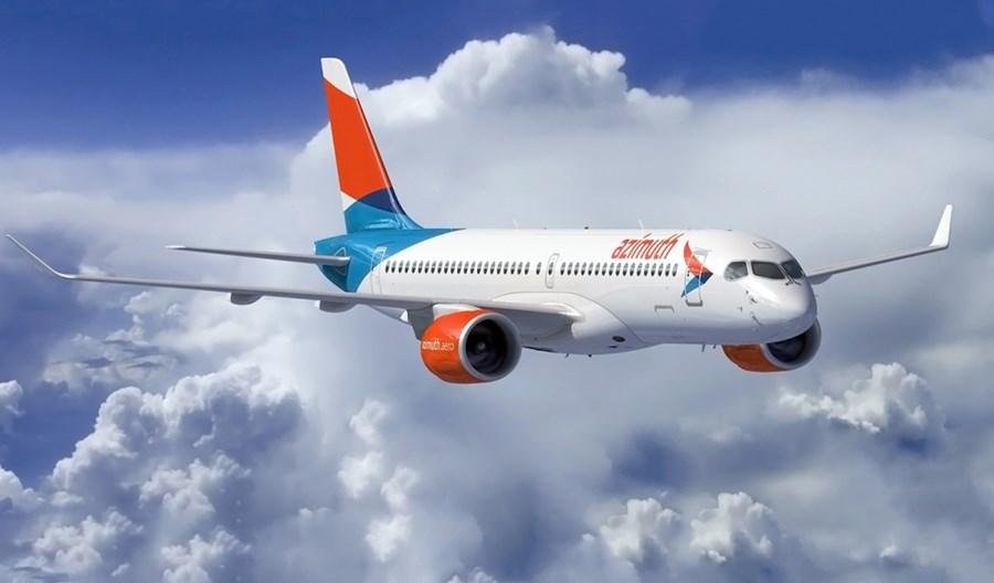 MAKS-2021: Azimuth Airlines zamawiają sześć airbusów A220