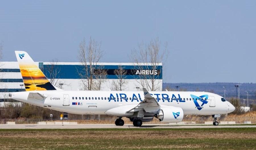 Air Austral pierwszym francuskim użytkownikiem A220