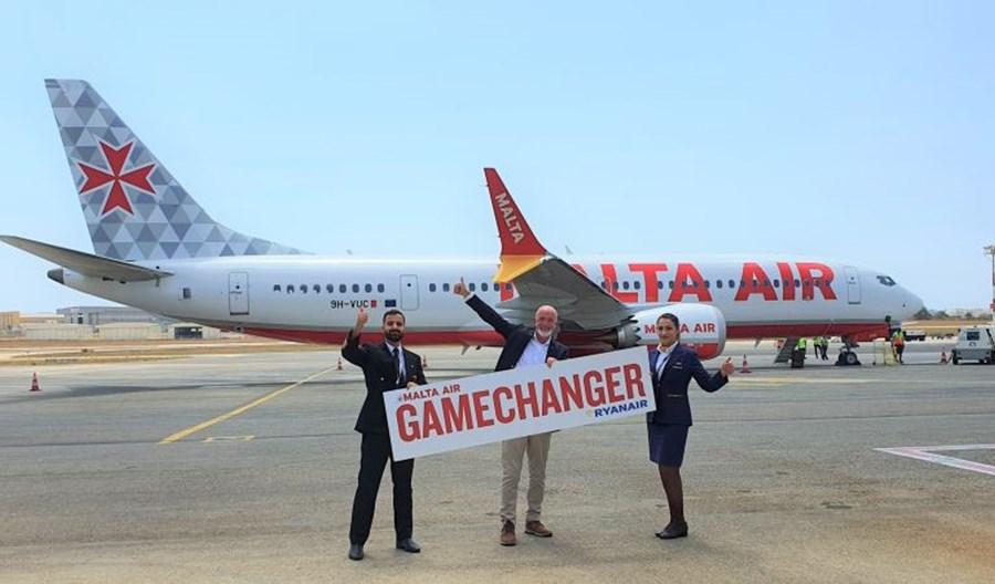"""""""Gamechanger"""" dla Malta Air dotarł na wyspy. Zimą 9 nowych tras z Malty"""