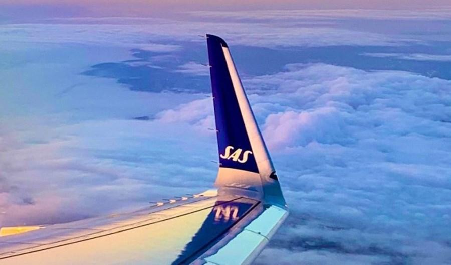Ponad milion pasażerów SAS w lipcu. 70 proc. więcej niż w czerwcu