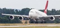 A380 linii Qantas przyleciał do Drezna i zostanie zmodernizowany