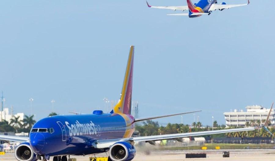 Problemy kadrowe w Southwest Airlines. Jesienią cięcia w rozkładzie lotów