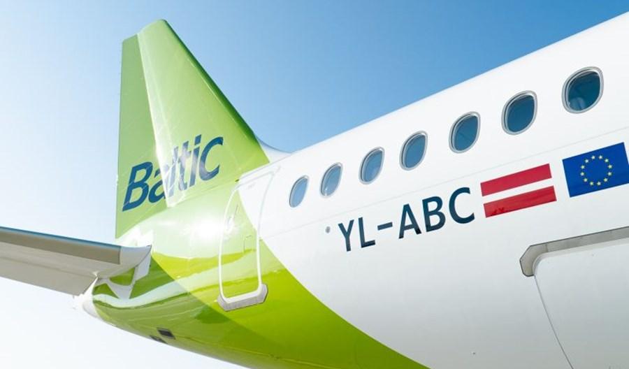 Ponad 60 mln euro półrocznej straty airBaltic. Spadki przychodów i liczby pasażerów