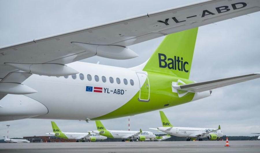 30. airbus A220-300 dla airBaltic przyleciał do Rygi