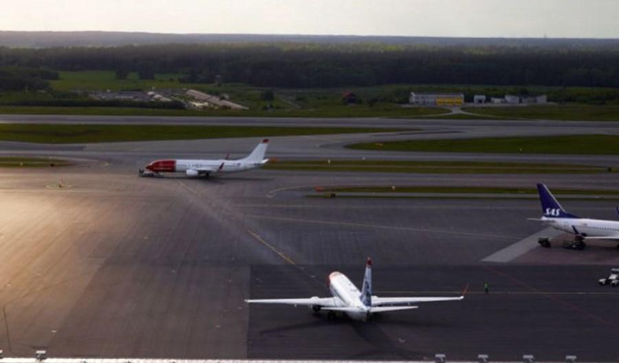 Szwecja: 1,5 mln pasażerów na 10 lotniskach. Spowolnienie tempa ożywienia w sierpniu