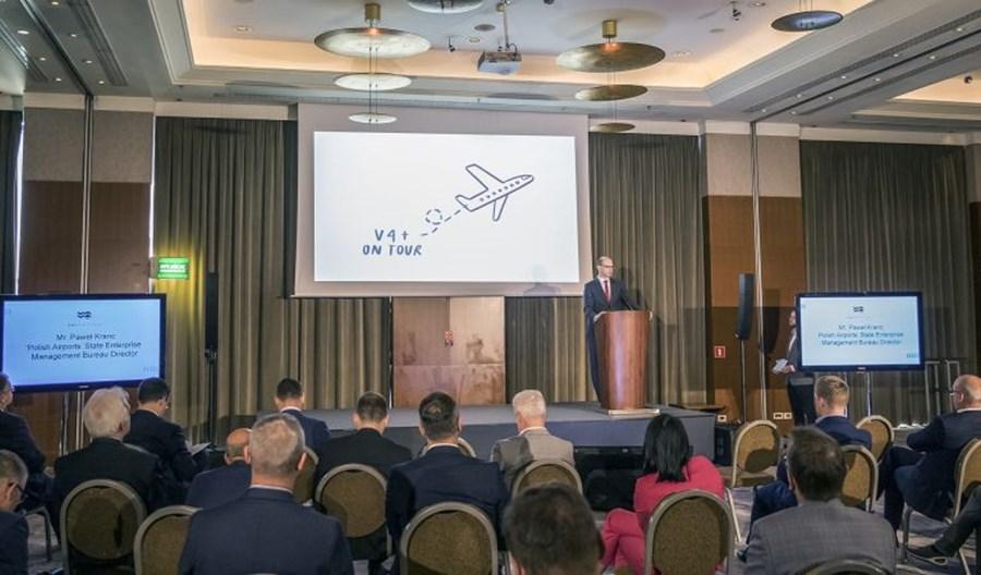 Europejskie lotniska V4+ jednym głosem o międzynarodowej współpracy
