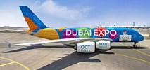 Emirates: Specjalne malowanie Dubai Expo 2020 na airbusie A380