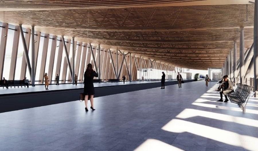 Ryga: Duże zainteresowanie budową stacji Rail Baltiki przy lotnisku