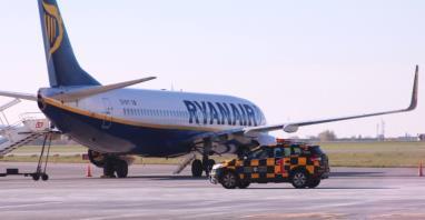"""Ryanair ostro o pracy kontrolerów. """"Związki zawodowe zmierzają do krachu"""""""