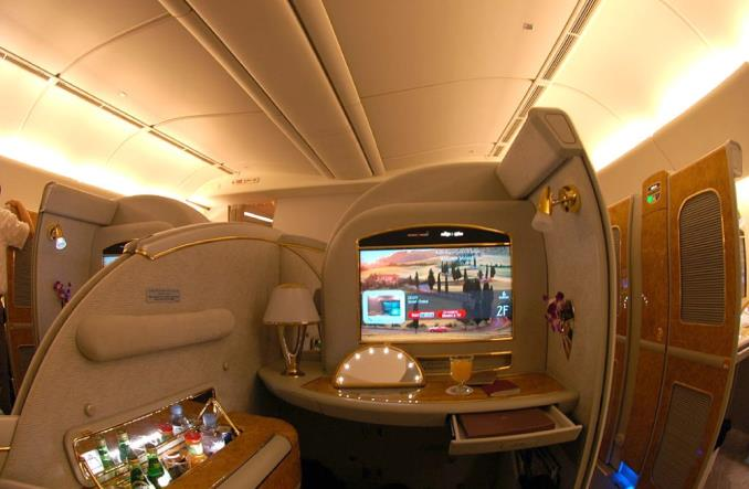 Emirates zdobyły nagrodę Skytrax za najlepszy system rozrywki pokładowej