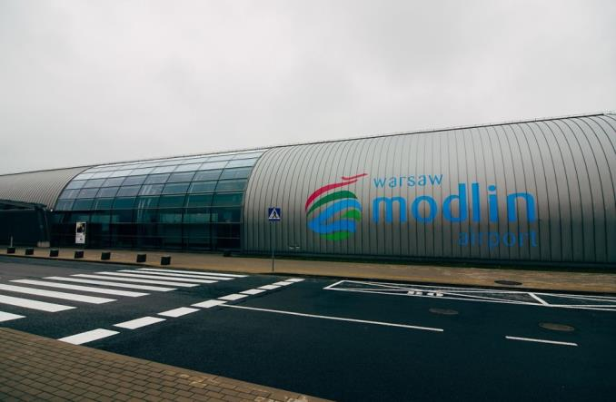 Lotnisko w Modlinie planuje wydać 60 mln zł na rozbudowę