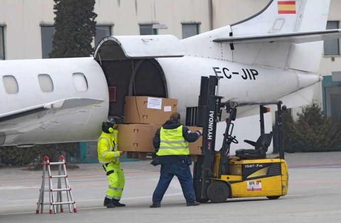 Port Lotniczy Łódź odnotował w maju rekord przewozów cargo