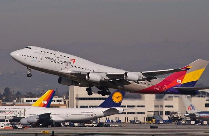 Asiana Airlines osłabione bojkotem chińskich turystów