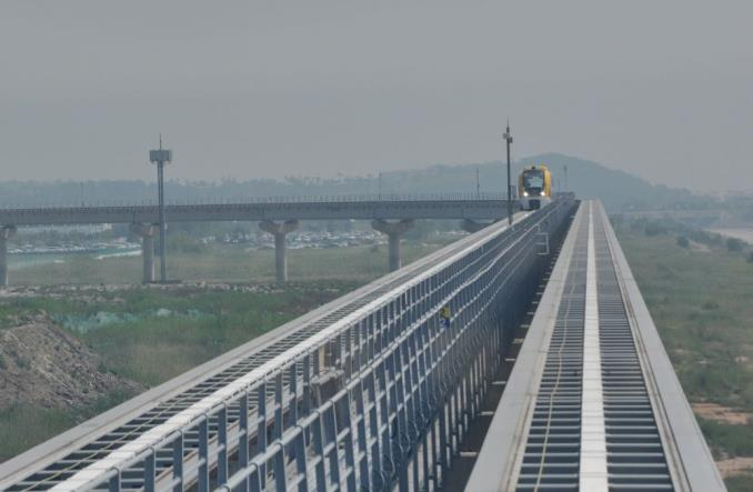 Na koreańskie lotnisko jeździ Maglev. Mocno tramwajowy [ZDJĘCIA]