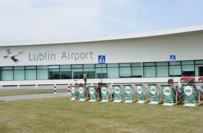 Lublin: Zagraj w siatkę na lotnisku. Powstała specjalna strefa relaksu