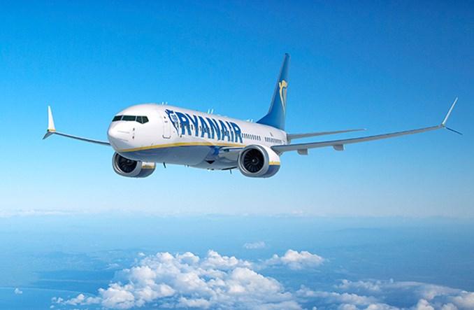 Ryanair: Pasażerów więcej, ale brakuje MAX-ów
