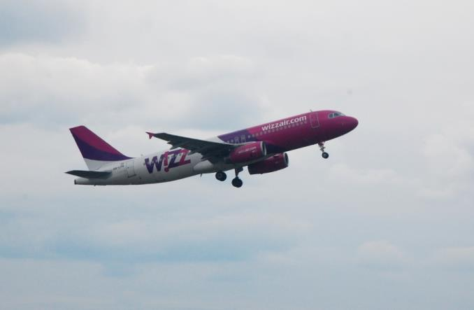 Wizz Air rozbudowuje swoją bazę na Ukrainie