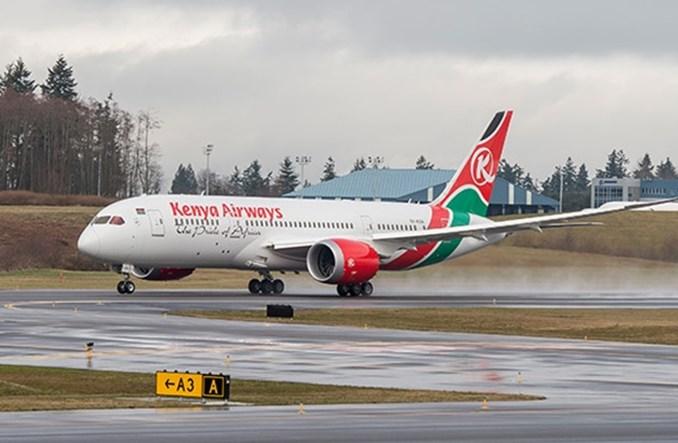 Rząd przejmie kontrolę nad Kenya Airways
