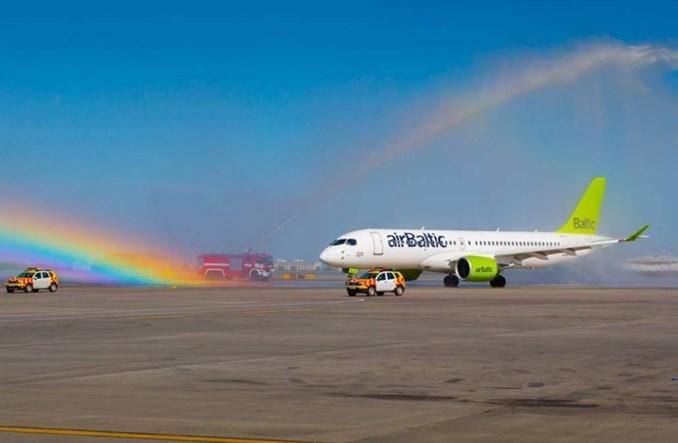 Air Baltic odbiera kolejnego Bombardiera CS300 i planuje loty Ryga – Gdańsk
