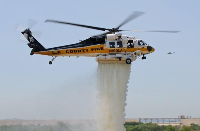 Los Angeles kupi śmigłowce strażackie Black Hawk od PZL Mielec