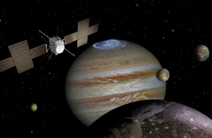 Sonda Juice poszuka życia na trzech księżycach Jowisza. Testowaniem zajmuje się polska firma