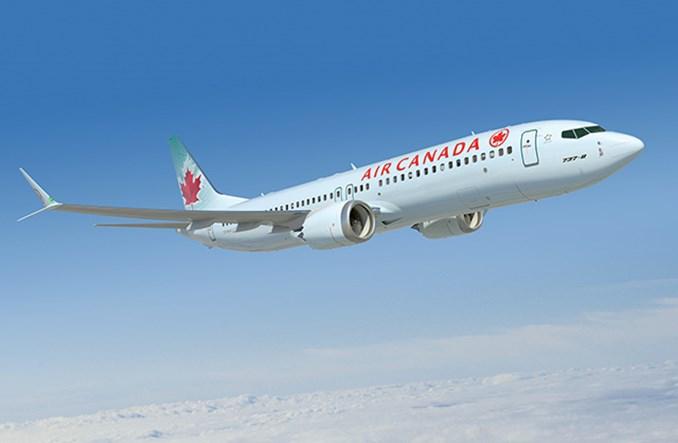 Rządowe wsparcie dla Air Canada uzależnione od warunków klimatycznych