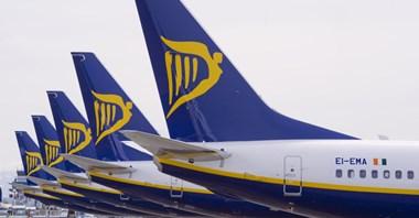 Ryanair: W listopadzie ruch lotniczy o 6% do góry
