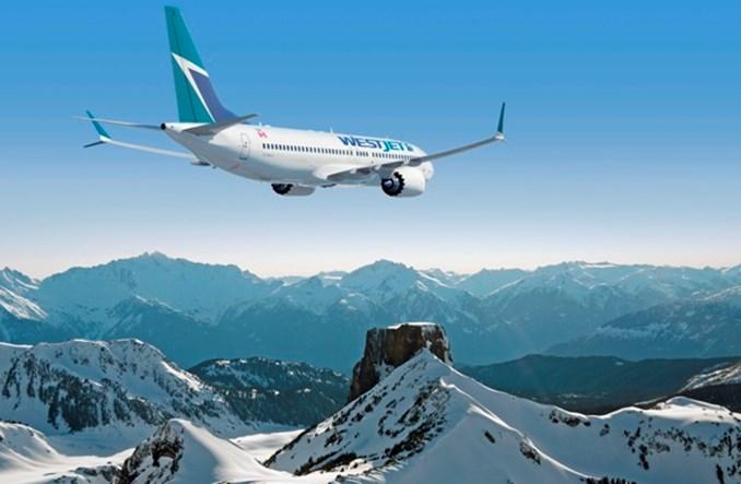 WestJet zwiększa o 102 proc. oferowanie w Kanadzie, USA i do Meksyku