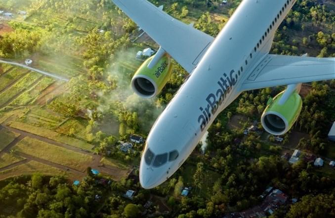 AirBaltic pnie się w górę
