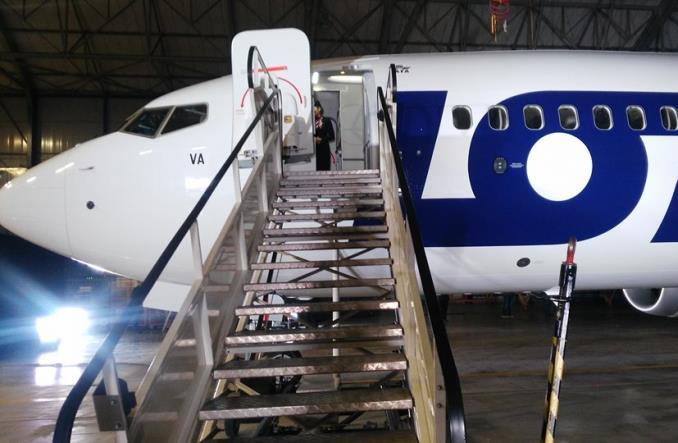 LOT: Pierwszy Boeing 737 MAX 8 przyleciał do Warszawy