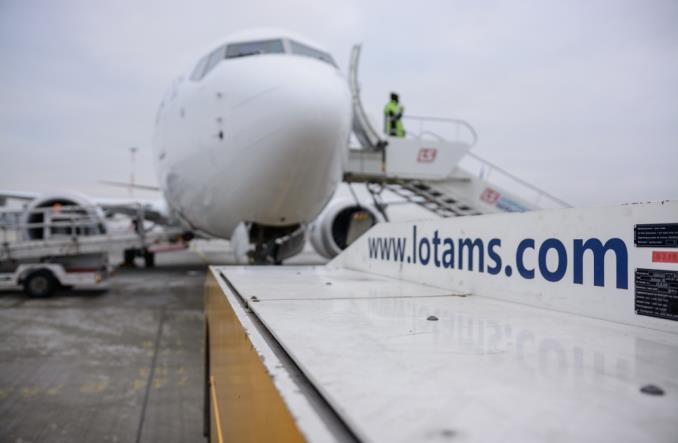 LOTAMS wykonuje obsługę liniową Boeinga 737 MAX