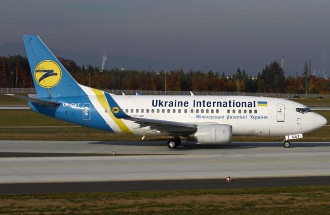 Więcej Ukraine International Airlines w Europie