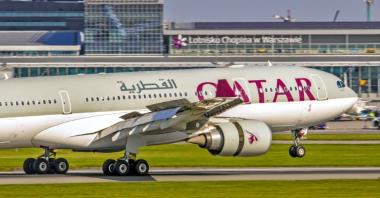 Lotnisko Chopina: Qatar Airways podwaja loty do Dohy
