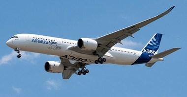 Chińskie linie lotnicze zamawiają 10 Airbusów A350-900
