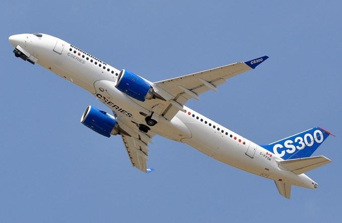 Bombardier dostarczy planowaną liczbę samolotów CSeries