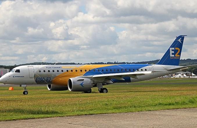 Embraer otrzymał certyfikat na E190-E2