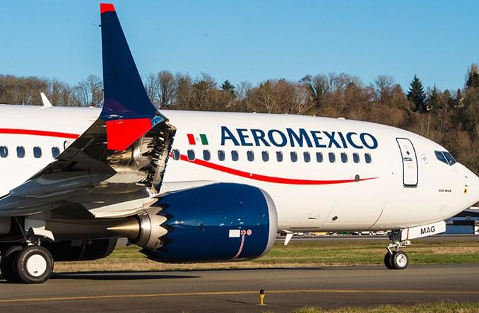 Boeing i Aeromexico świętują dostawę pierwszego samolotu 737 MAX