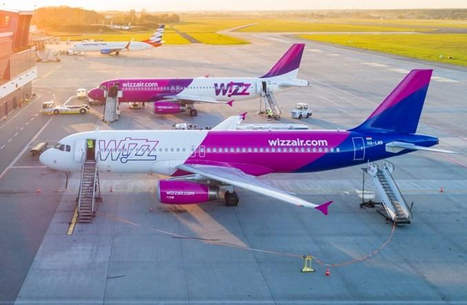 Wizz Air odnotowuje największe opóźnienia w Wielkiej Brytanii