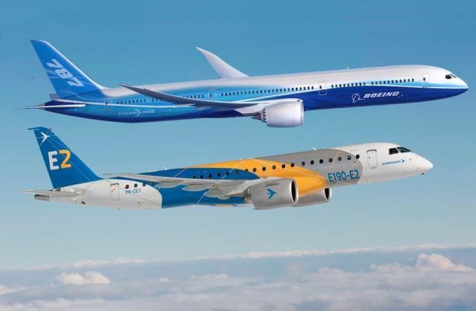 Boeing i Embraer potwierdzają szczegóły transakcji