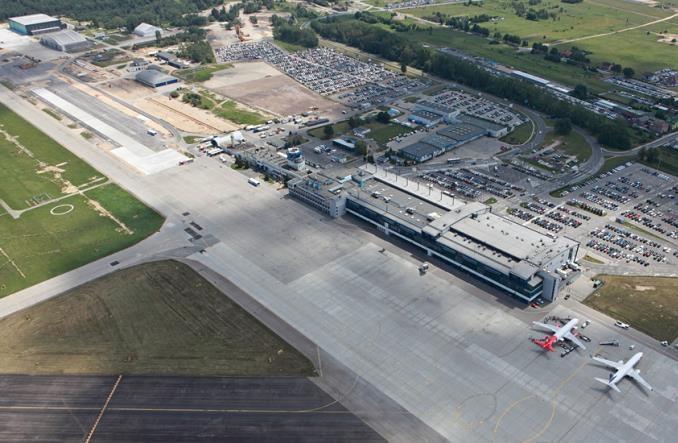 Połączenie kolejowe na pyrzowickie lotnisko z finansowaniem unijnym