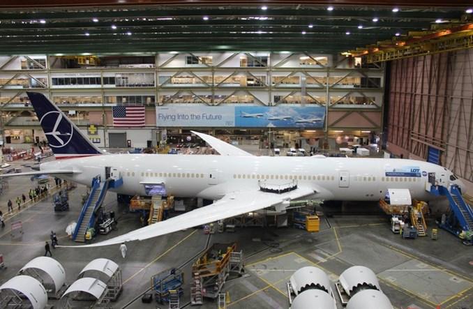 Boeing wstrzymuje produkcję Dreamlinerów w Karolinie Południowej