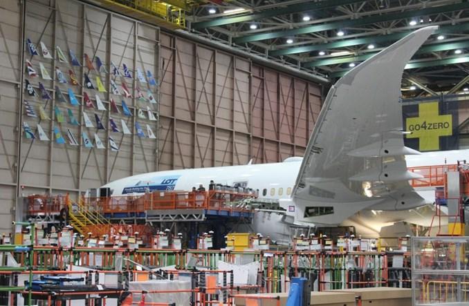 Boeing przeniesie produkcję Dreamlinerów z Seattle do Południowej Karoliny