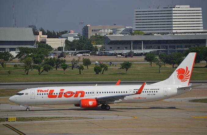 Thai Lion Air odbiera pierwszego Boeinga 737-9