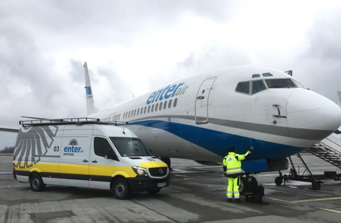 Enter Air uruchamia obsługę techniczną