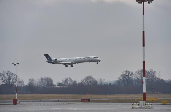 Łódzkie lotnisko odnotowało dwucyfrowy spadek za pierwszy kwartał