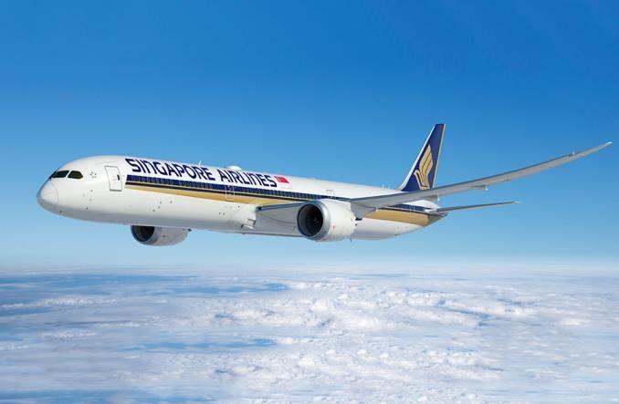 787-10 w barwach Singapore Airlines będzie latać do Japonii