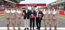 Linie Emirates i Formuła 1 przedłużają współpracę