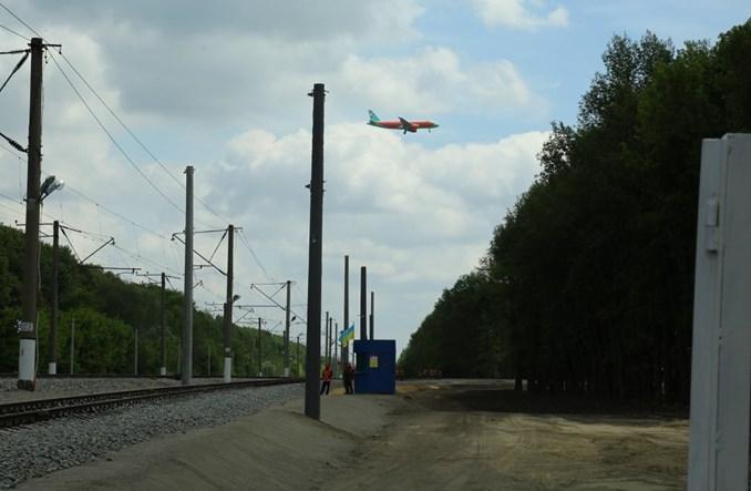 Budowa kolei na kijowskie lotnisko w ekspresowym tempie